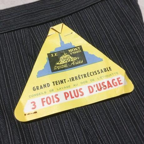 1950's LE MONT ST MICHEL Cotton Trousers Deadstock