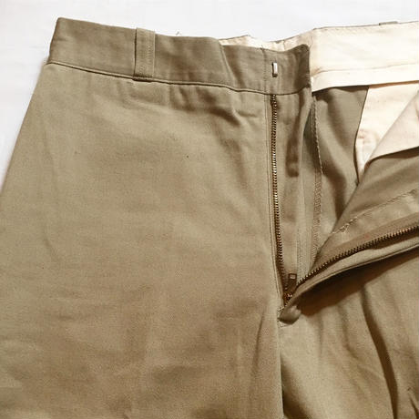 1960〜70's US.ARMY Chino Trousers Deadstock