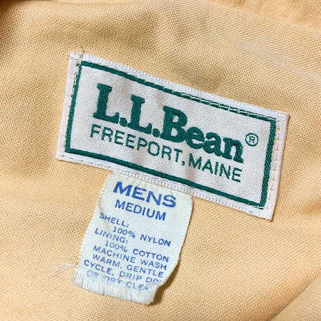 1980's〜 L.L.Bean Nylon Coach Jacket