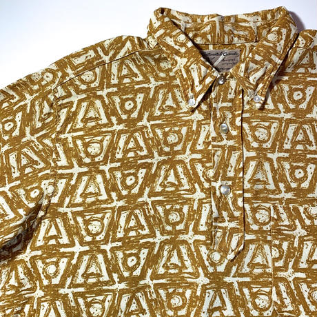 1960's Continental Casuals Pullover S/S Shirt