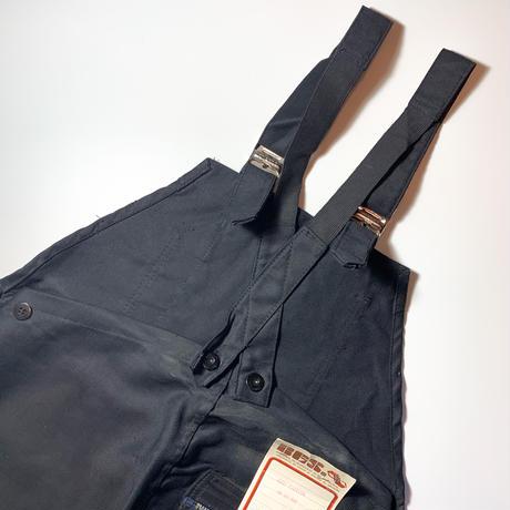 1950's〜 BGS Black Moleskin Overall Deadstock
