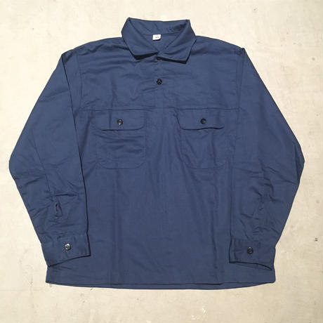 1970's US.NAVY Utility Pullover L/S Shirt Deadstock