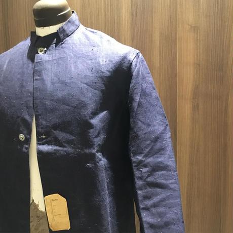 1920〜30's Belgie Linen Jacket Deadstock