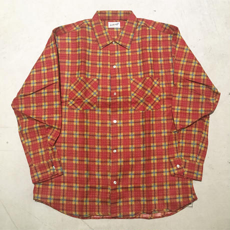 1960's Bellcraft Flannel L/S Shirt Deadstock