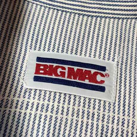 1980's BIG MAC Hickory L/S Shirt
