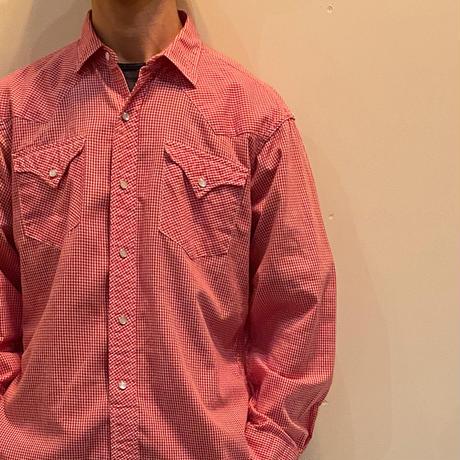 1960's H BAR C Western L/S Shirt Deadstock