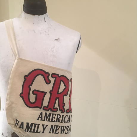 1950's Unknown News Paper Bag Deadstock