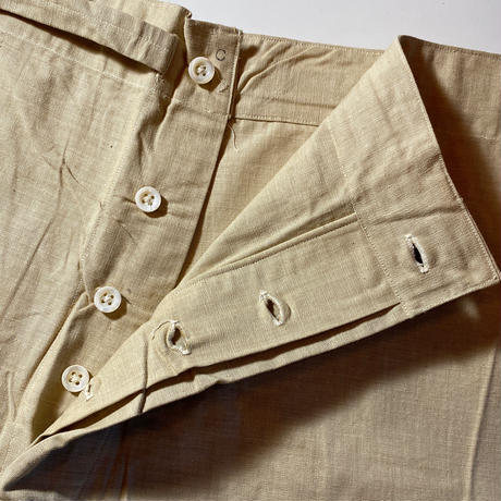1910〜40's US.ARMY Pajama Set Up Deadstock