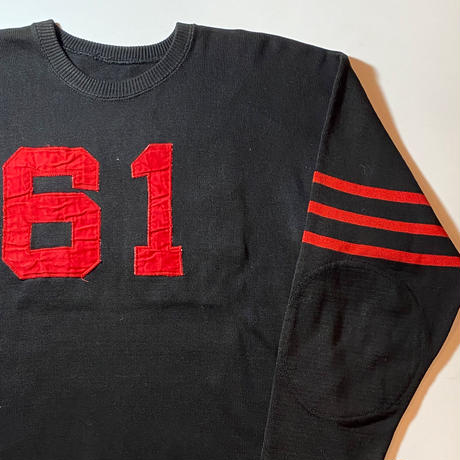 1950〜60's Unknown Football L/S Tee