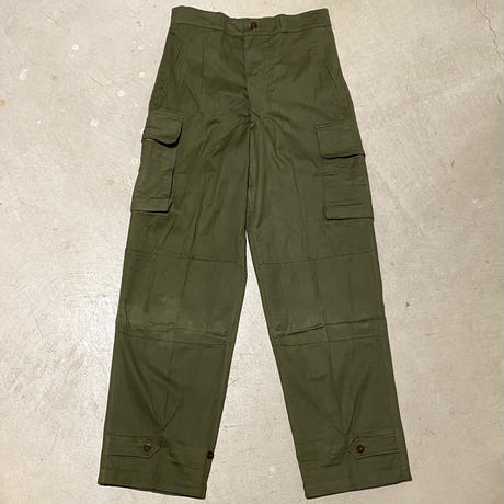 1950〜60's French Army M-47 Herringborn Trousers Deadstock