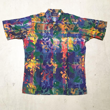 1980's Lord Jeff Indian Madras S/S Shirt Deadstock