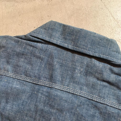 1970's BIG MAC Chambray L/S Shirt Deadstock