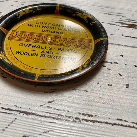 1930〜40's DUBBLE WARE Advertising Tray
