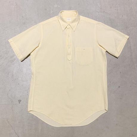 1970〜80's Brooks Brothers Seersucker Pullover S/S Shirt