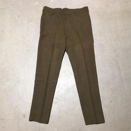 1960's WASHINGTON DEE CEE Tapered Pants Deadstock