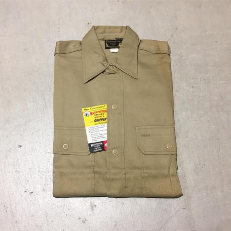 1960's WASHINGTON DEE CEE L/S Work Shirt Deadstock