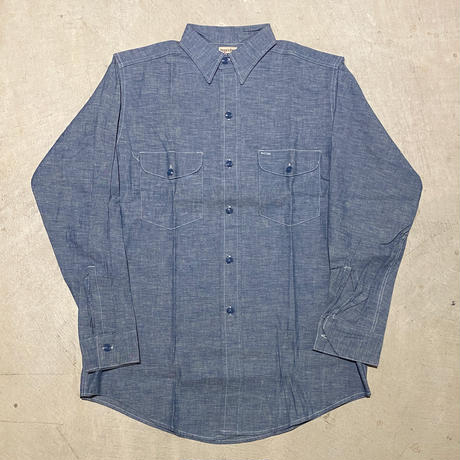 1950's〜 SWEET-ORR Chambray L/S Shirt Deadstock