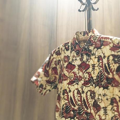 1960〜70's Raja An Falrics Batik Print S/S Shirt