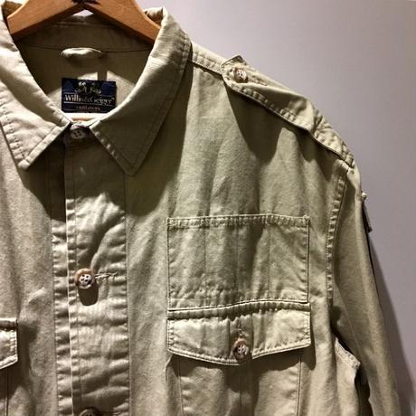 1990's Willis&Geiger Safari Jacket