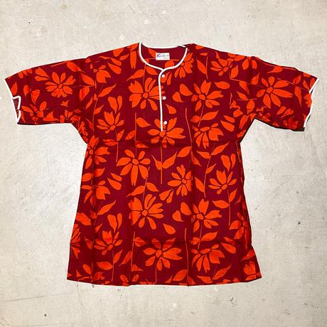 1960's Squlre Casuals Henlyneck S/S Shirt Deadstock