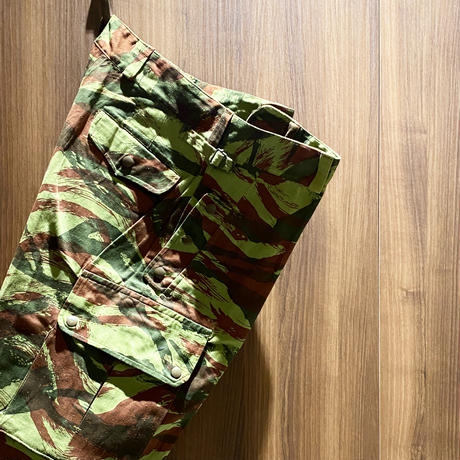 1960's French Army Lizard Camo Trousers Deadstock