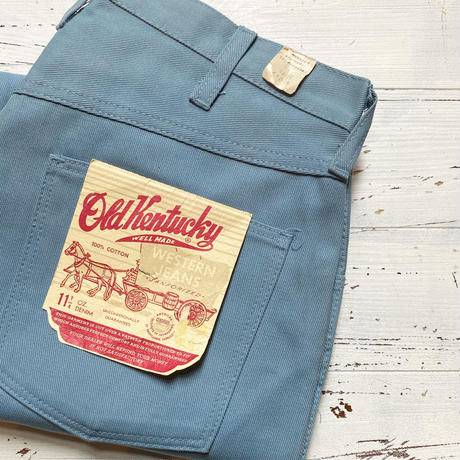 1960's Old Kentucky Tapered Pants Deadstock