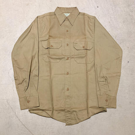 1940〜50's MAMMOTH CAVE L/S Shirt Deadstock