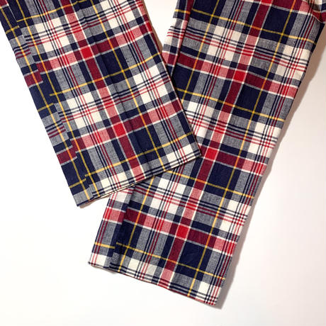 1960〜70's L.L.Bean Indian Madras Pants