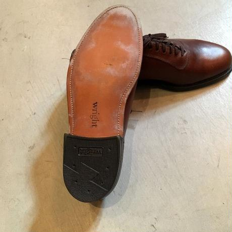 1980's  Wright Leather Shoes Deadstock