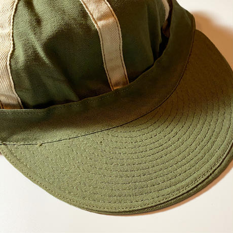 1940's US.ARMY AIRFORCE A-3 Mechanic Cap Deadstock