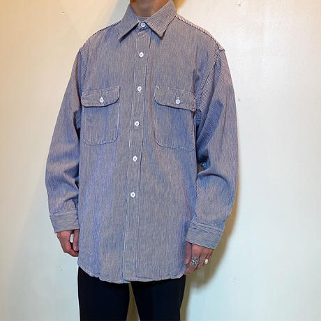 1970's BIG MAC Hickory L/S Shirt