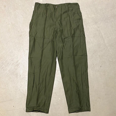 1970's US.ARMY Utility Trousers Deadstock