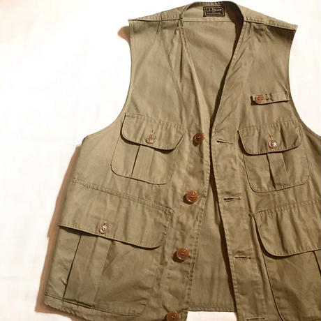 1940's L.L.Bean Fishing Vest