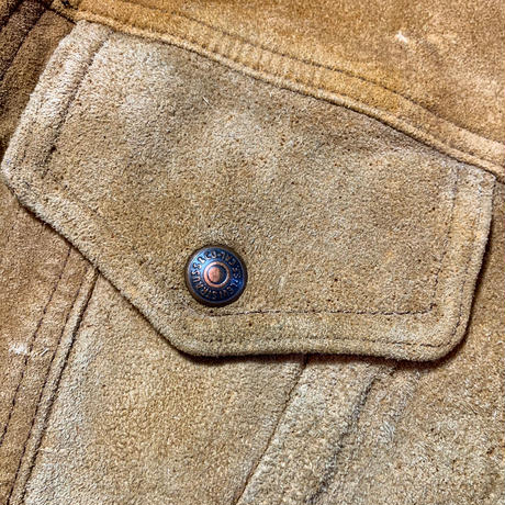 1960〜70's Levi's Suede 3rd Jacket