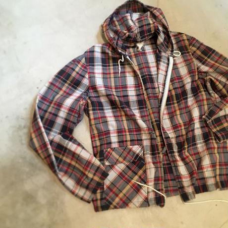 1960's Unknown Madras Cotton Hoodie