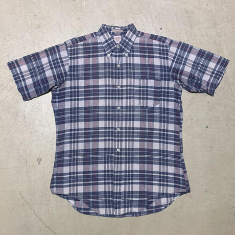 1960's Enro Indian Madras S/S Shirt
