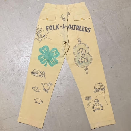 1960's Vanslacks Memorial Corduroy Pants