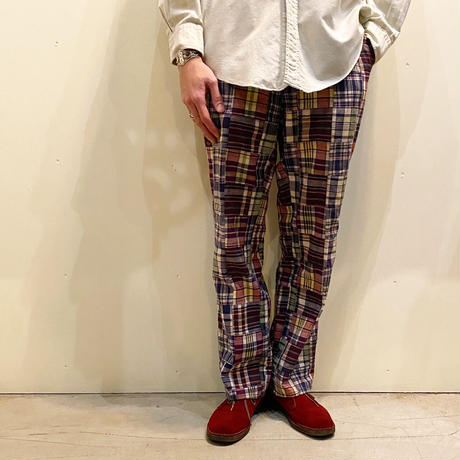 1960's〜 CORBIN Indian Madras Tapered Pants