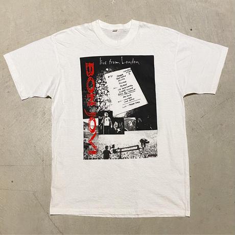 1990's Unknown BONJOVI Tour Printed Tee Deadstock