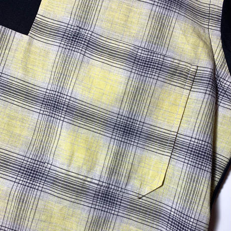 1950's Pilgrim Cotton&Rayon Pullover L/S Shirt