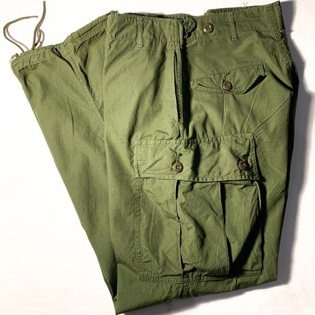 1960's US.ARMY Jungle Fatigue 1st Trousers