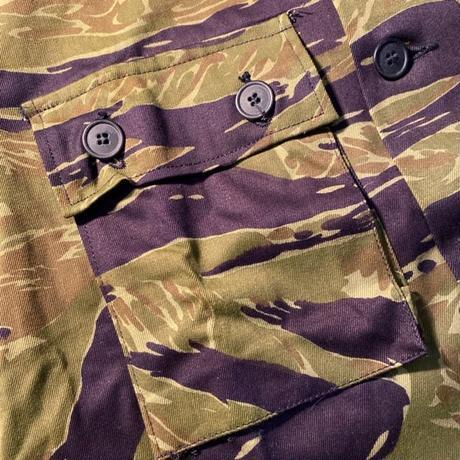 1960's US.ARMY Tiger Stripe Jacket Okinawa Made Deadstock