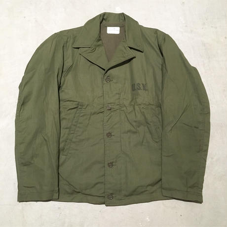 1940's US.NAVY N-4 Deck Jacket Deadstock