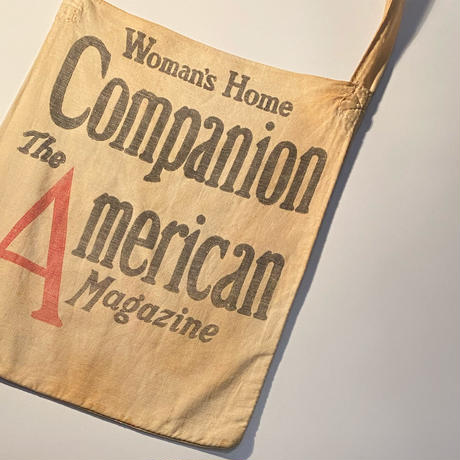 1930〜40's Unknown Magazine Bag