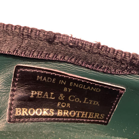 2000's PEAL&CO Brooks Brothers Velvet Shoes