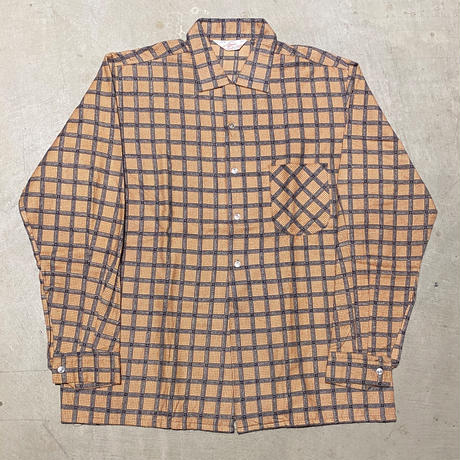 1950's〜 Embassy Flannel L/S Shirt Deadstock
