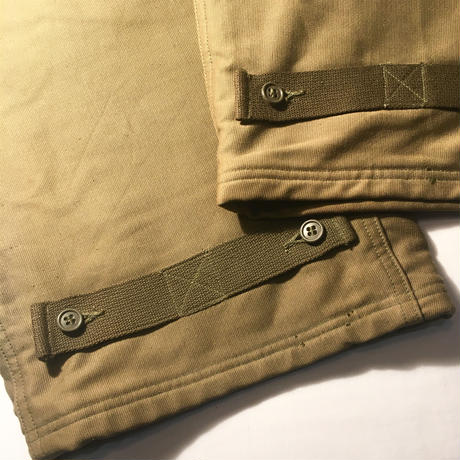 1940's US.NAVY N-1 Deck Pants Deadstock