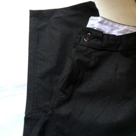 1990's Unknown Black China Trousers Deadstock