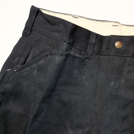 1950〜60's Unknown FRISCO JEENS Black Deadstock