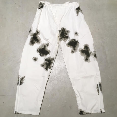 1990's〜 Germany Snow Camo Over Trousers Deadstock